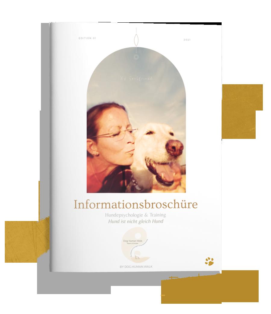 Dog Human Walk Infobroschüre Hundeschule Hundepsychologie Kurse Bitburg Trier Wittlich