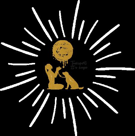 Teamspirit Logo Dog Human Walk